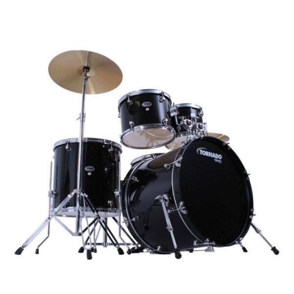 Mapex TND5044TDK Tornado Black Drum Kit