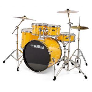 Yamaha Rydeen Drum Kit - RDP2F5 Mellow Yellow