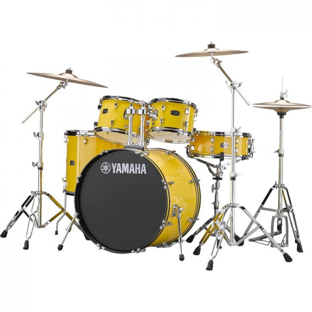 Yamaha Rydeen Drum Kit – RDP2F5 Mellow Yellow