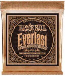 Enrieball Everlast Coated Phosphor Bronze Acoustic Guitar