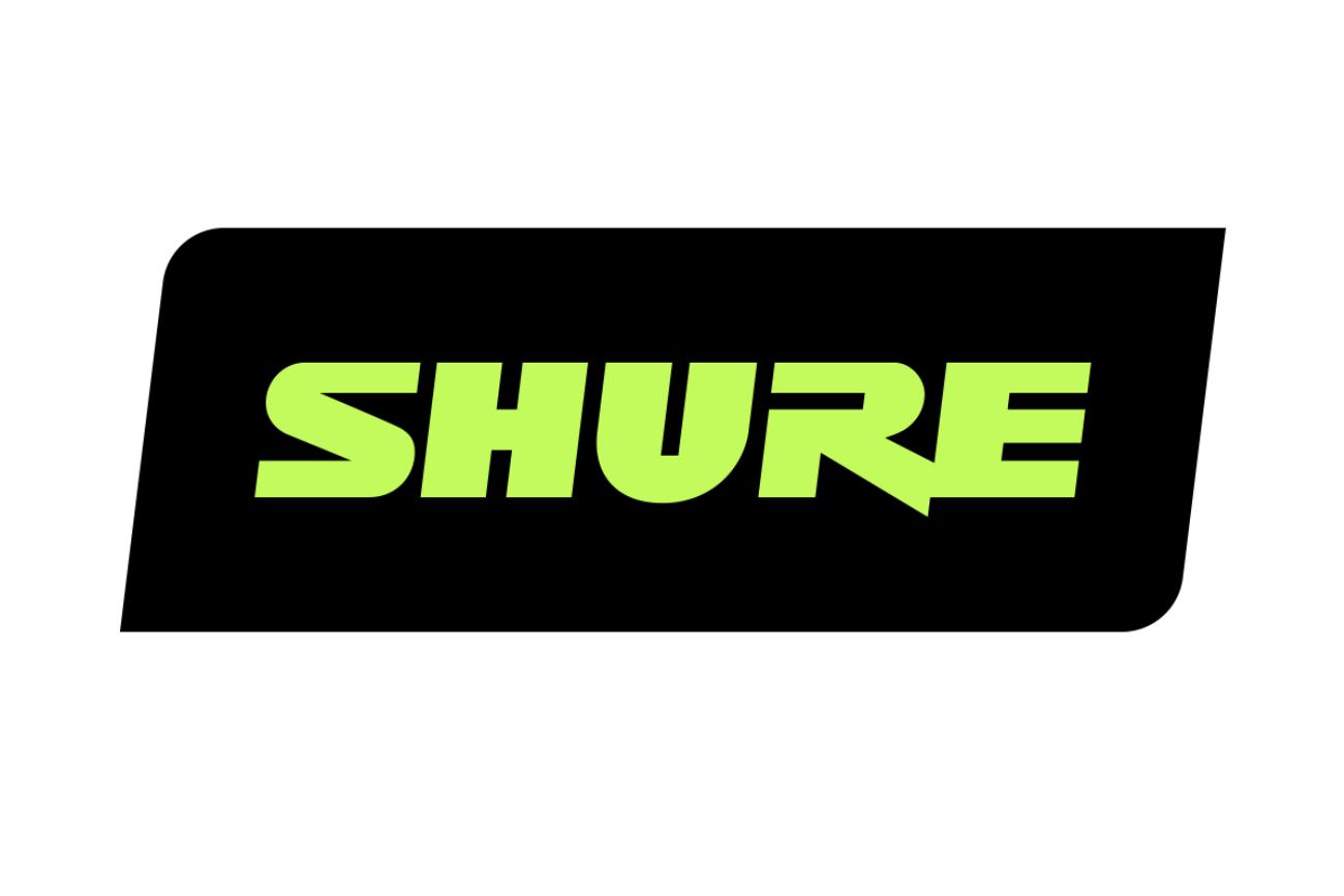 shure brand logo