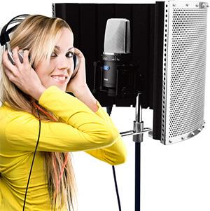 PF32 MKII Professional Studio Mic Screen